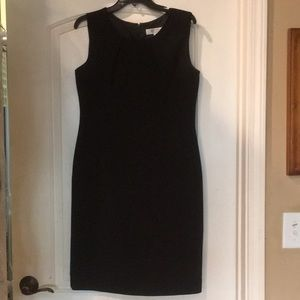 Kasper little black dress sheath 10